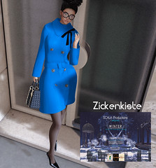 """Zickenkiste """"Jellyn"""" Coat Dress for SCALA Winter Fashion & Shopping Event"""