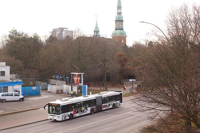 Ein KVG Bus im SEV in Hamburg