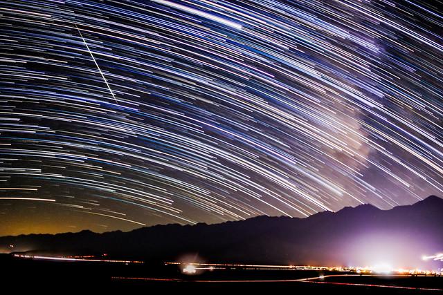 Persied Meteor Shower 80D 3rd Night