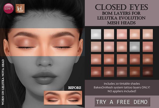 Closed Eyes (LeLutka Evolution) for TLC