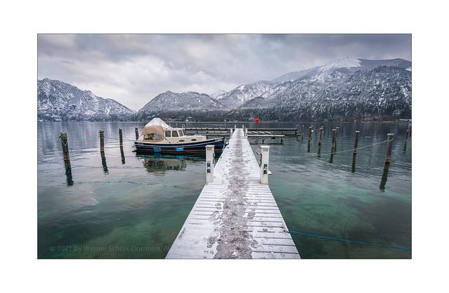 At the Lakes of Salzkammergut