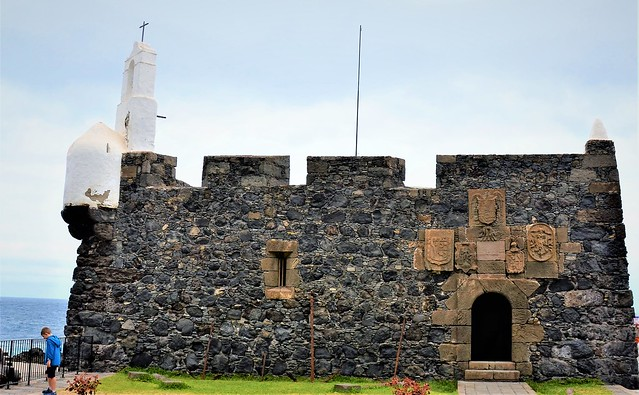 Tenerife - Garachico - La Fortaleza de San Miguel