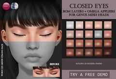 Closed Eyes (Genus) for TLC