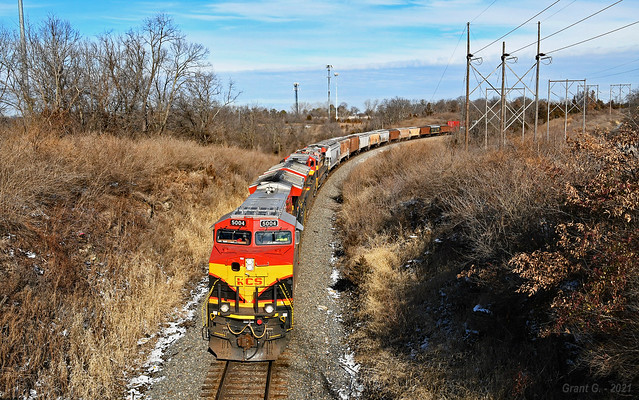 Southbound Manifest in Kansas City, MO