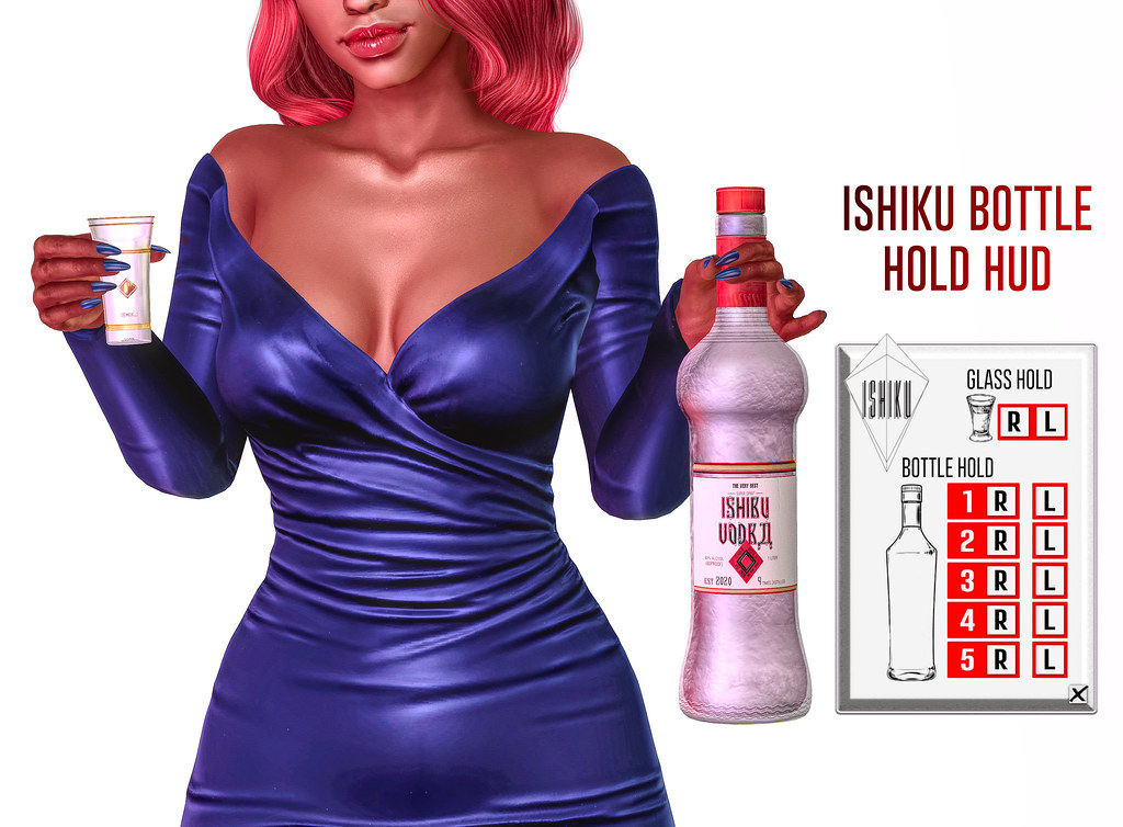 ISHIKU GROUP GIFT | BOTTLE HOLD HUD