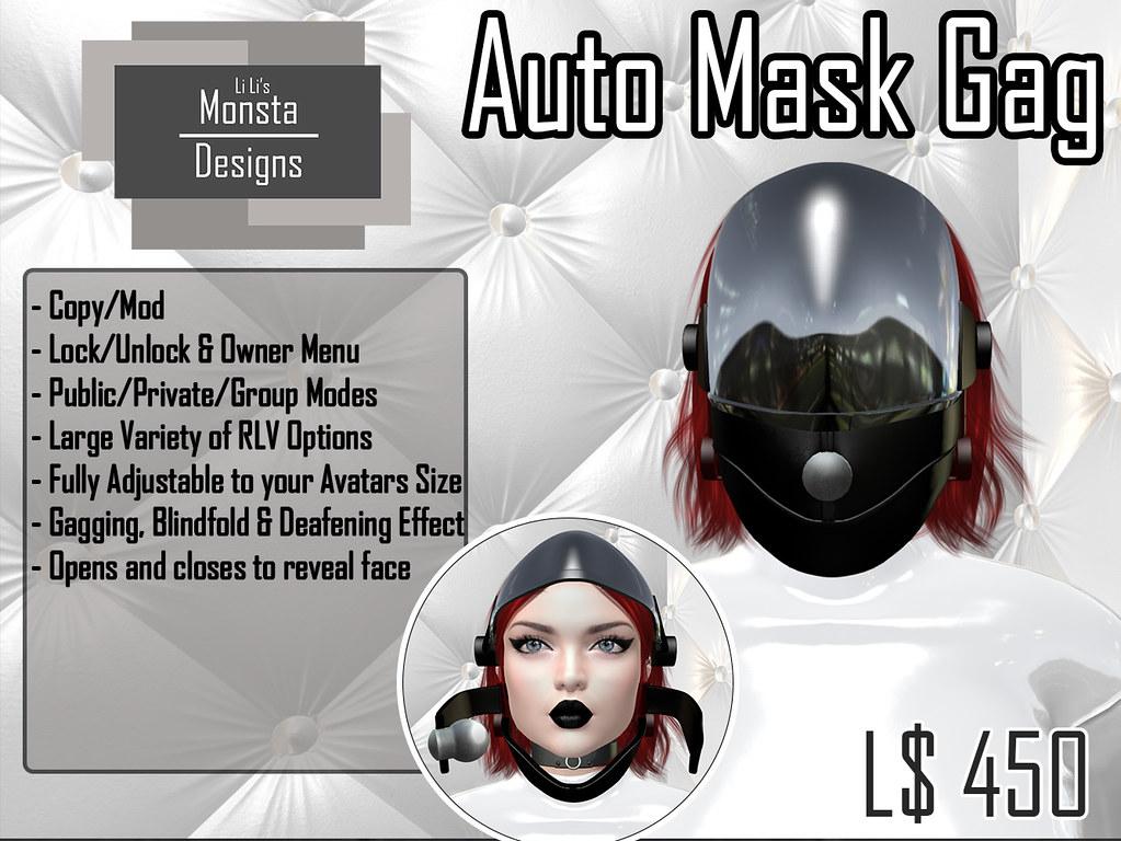 Auto Mask Gag