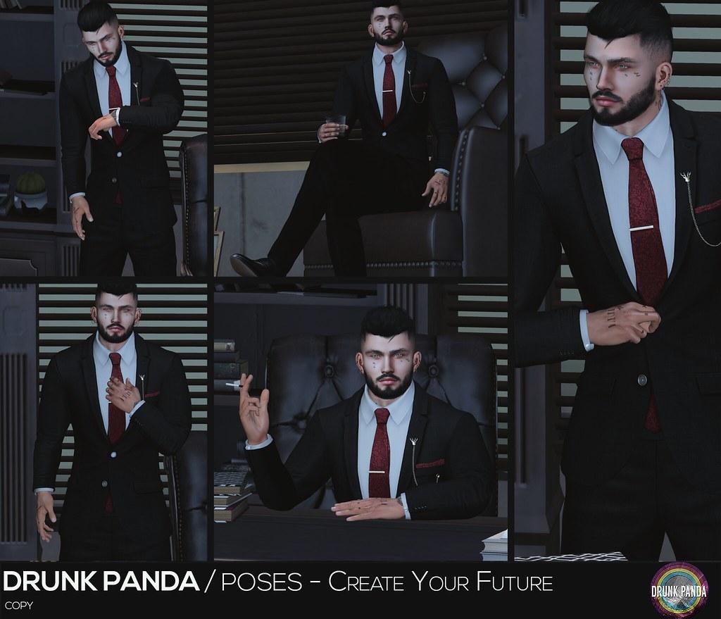 Drunk Panda - CreateYourFuture