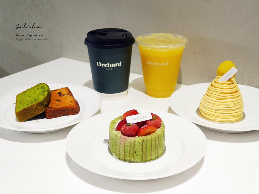 台北咖啡廳下午茶Orchard Taipei永康街甜點蛋糕推薦大安區咖啡廳 (7)