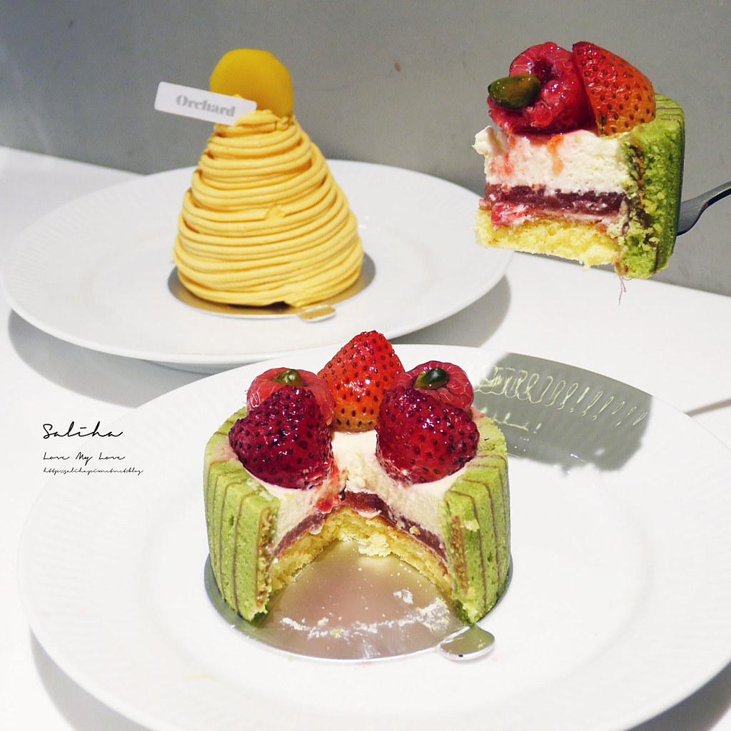 台北甜點推薦Orchard Taipei永康街咖啡廳下午茶ig甜點大安區美食 (2)