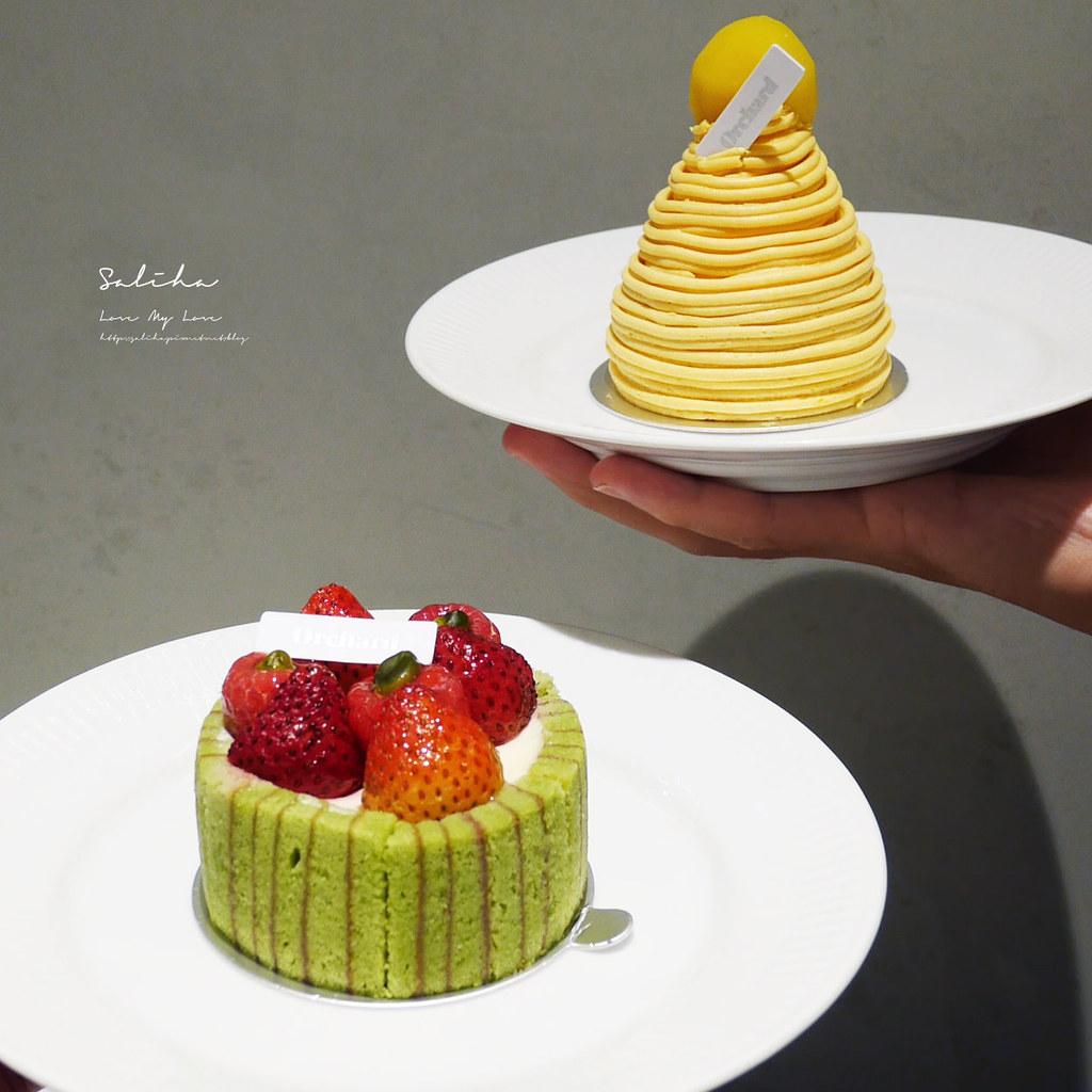 台北咖啡廳下午茶Orchard Taipei永康街甜點蛋糕推薦大安區咖啡廳 (9)