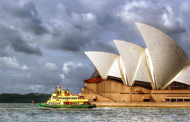 Storm clouds. Sydney.