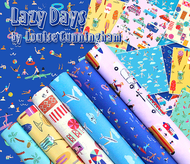 Dashwood Studio Lazy Days Collection by Louise Cunningham