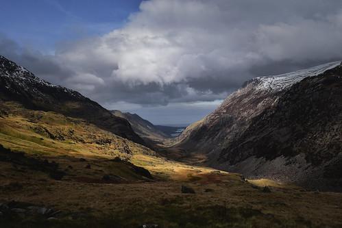 Llyn Padarn and Llyn Peris from Snowdon's Pyg Track (Explored)