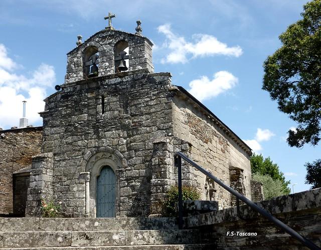 Igrexa Parroquial de Santiago. Baamonde. Lugo.