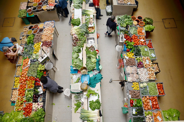 Food market, Coimbra