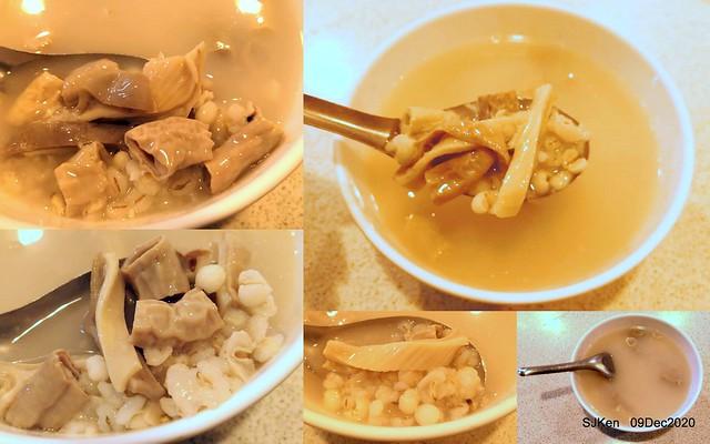 Meat ball & Shishen Soup, 「津味肉圓台北店」, Taipei, Taiwan, SJKen, Dec 8, 2020.