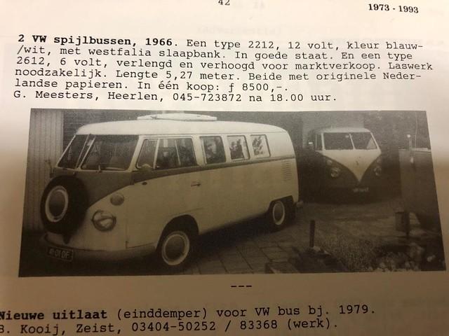 41-01-DF Volkswagen Transporter kombi 1966