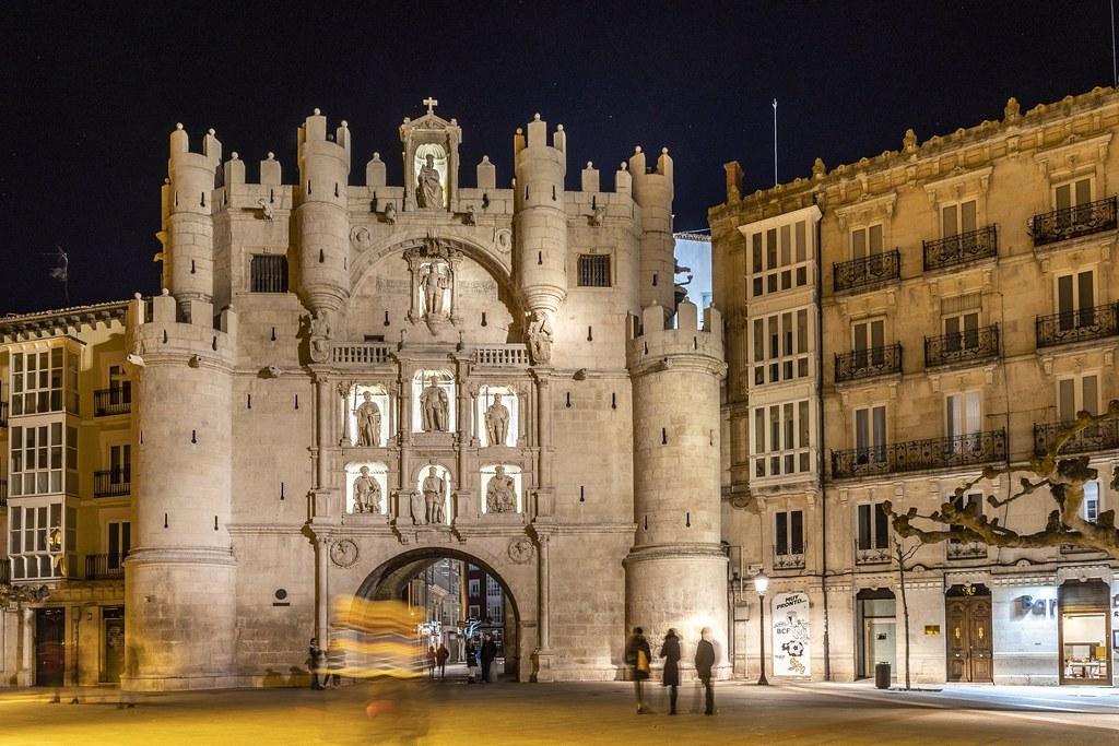 Arco de Santa María - Burgos s XIV