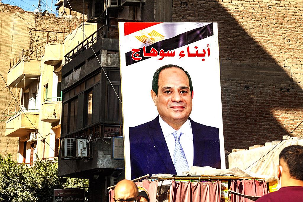 Al-Sisi in Heliopolis on 1-18-21--Cairo