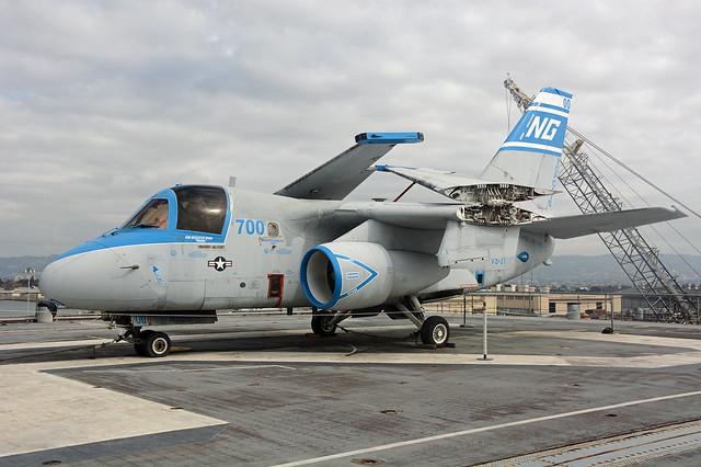160599  Lockheed S3A Viking  USS Hornet  01-10-15