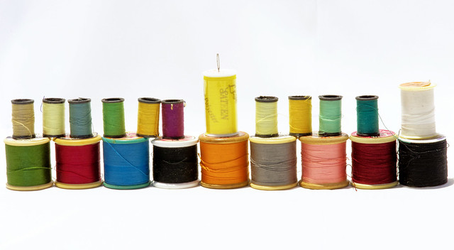 21 reels of thread (for Crazy Tuesday)  IMG_5120