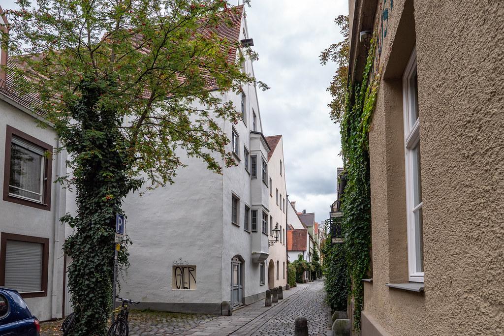 Augsburg: Lochgäßchen