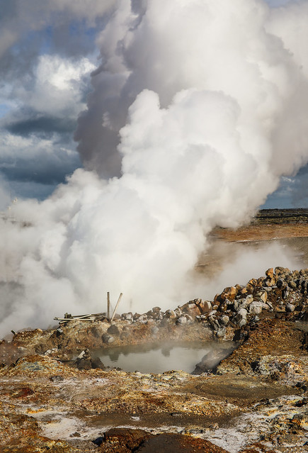 Gunnuhver Steam Vent