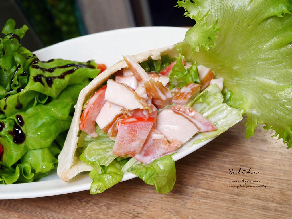 台北東區忠孝復興站不限時咖啡廳下午茶餐廳推薦NICE GREEn好吃蔬食料理捷運美食大安區餐廳 (3)
