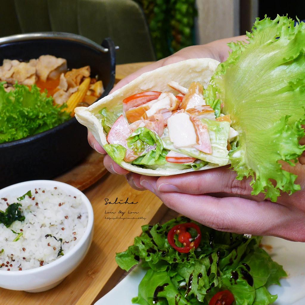 台北東區輕食餐廳NICE GREEn火鍋下午茶蔬食料理有素食忠孝復興sogo附近 (1)