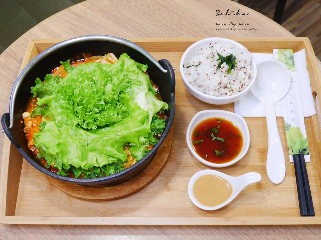 台北忠孝復興站不限時餐廳推薦NICE GREEn好吃蔬食美食咖啡廳下午茶小火鍋可久坐 (3)
