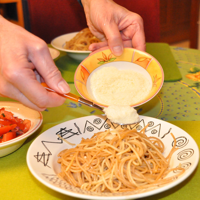 Januar 2021 ... Spaghetti Olio ed Aglio mit ganz viel Knoblauch ... Brigitte Stolle