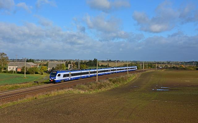 PKP Intercity ED160-011 - Gąsiorki (PL)