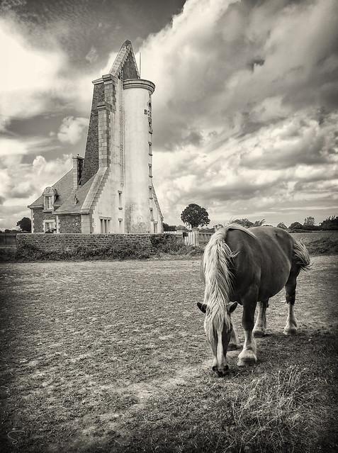 le cheval et le phare