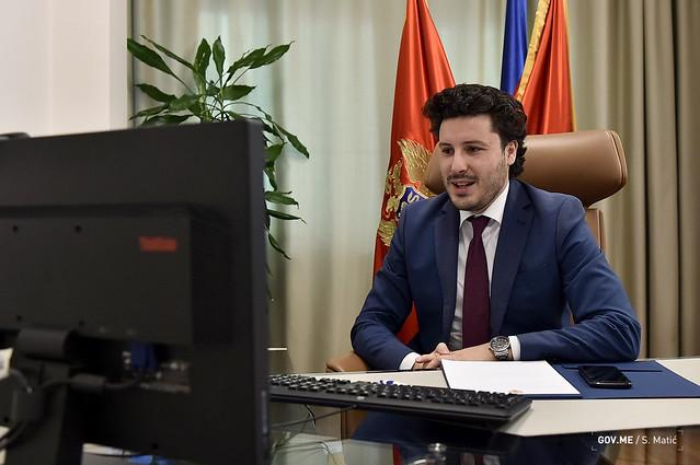 Dritan Abazović - Artan Grubi (19.01.2021.)