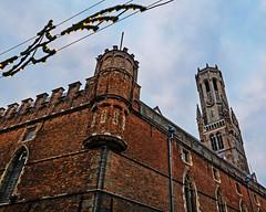 The Belfry in Bruges (Kodachrome 64) (Panasonic LX100-II)