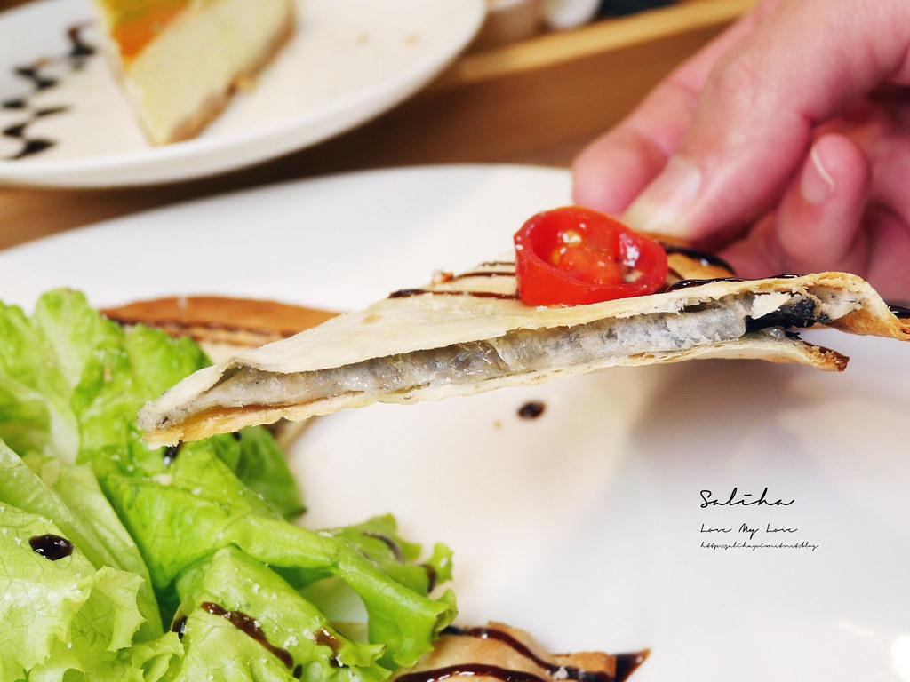 台北東區忠孝復興站不限時咖啡廳下午茶餐廳推薦NICE GREEn好吃蔬食料理捷運美食大安區餐廳 (1)