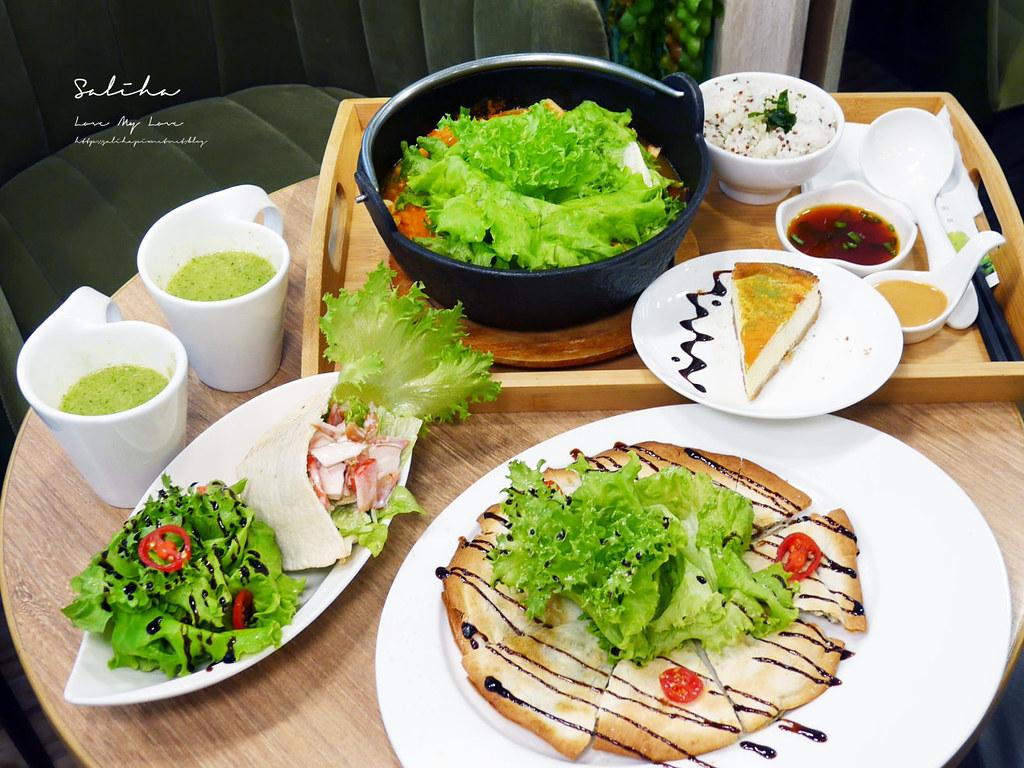 台北忠孝復興站不限時餐廳推薦NICE GREEn蛋糕甜點下午茶好吃蔬食火鍋 (1)