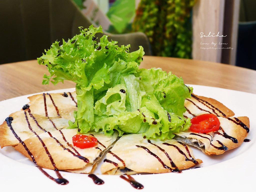 台北大安區復興南路餐廳推薦NICE GREEn不限時可久坐好吃蔬食料理美食有素食下午茶 (1)