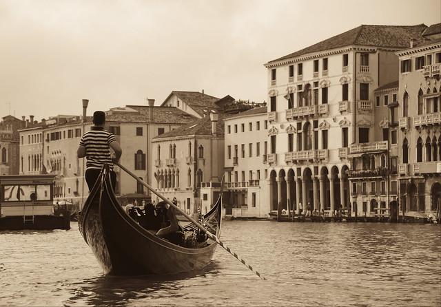 Venice - il gondoliere
