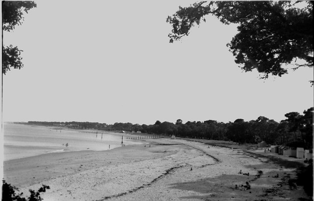 PLAGE DES DAMES Noirmoutier-en-l'Île JUILLET 1954_BAR2342