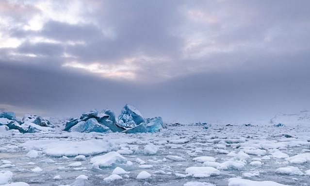 Glacier Lagoon Jokulsarlon - Iceland