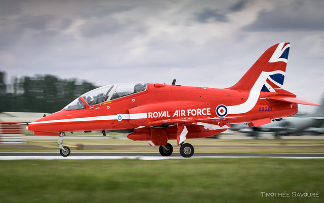 RIAT19   Royal Air Force 'Red Arrows' BAE Hawk T.1A   XX219