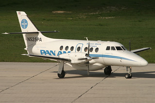 N525PA. Jetstream 31. Pan Am Clipper Connection. SDQ.