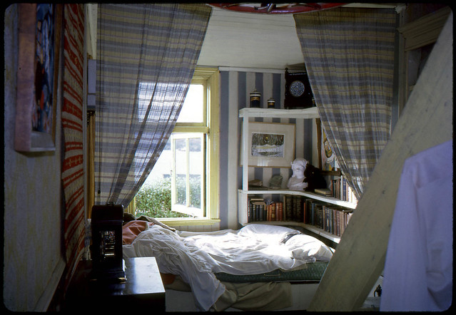 Bedroom at Broad Bay, early 1960s