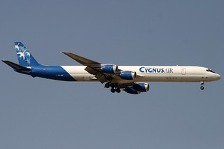 EC-IGZ. DC-8/73CF. Cygnus Air. MAD.