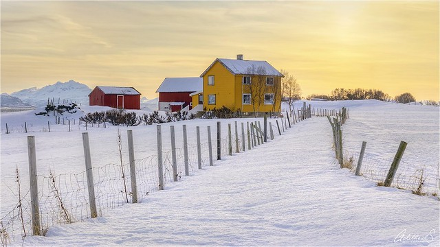 Senja Winter Sunset, Norway