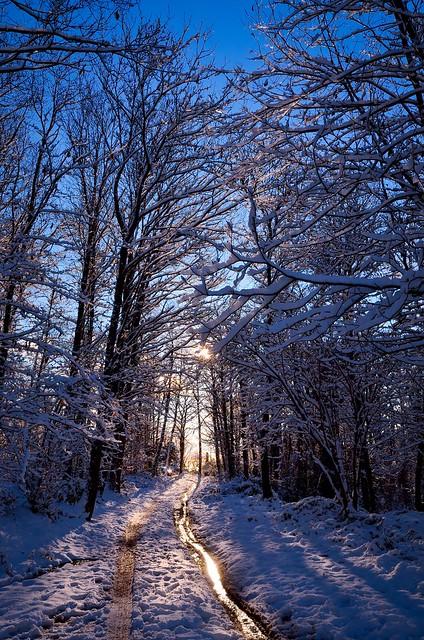Snow Calabria Italy