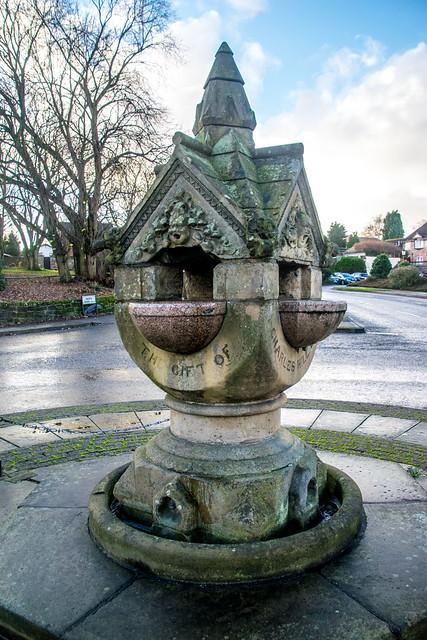 Bebington Water drinking fountain