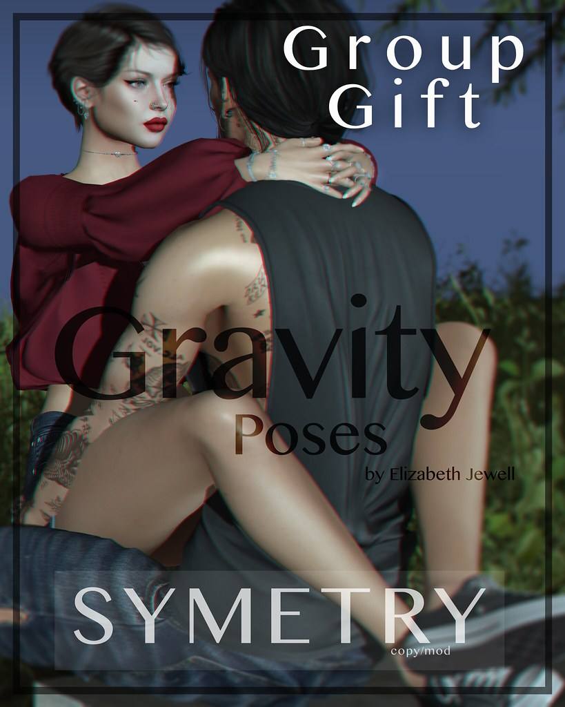 Gravity Poses – January Group Gift