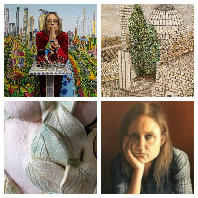 איילת בוקר סמדר שרת טלי עירוני רחל פרנק יוצרות מודרניות יוצרת מודרנית היוצרת המודרנית